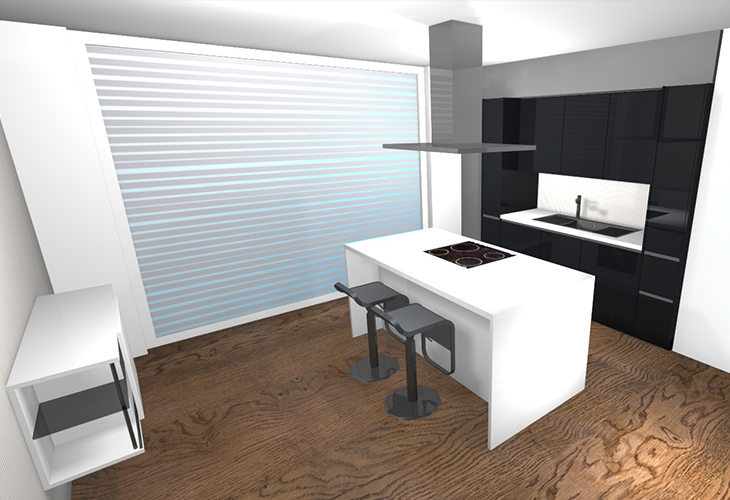 Za samo 3.290 € prodamo lakirano kuhinjo